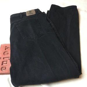 dadf62da Wrangler Jeans - Wrangler Relaxed Fit Coal Black Jeans